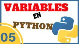 Variables en Python