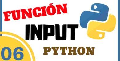 funcion input en python
