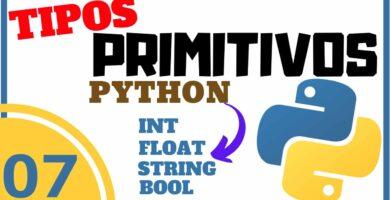 Tipos Primitivos en Python