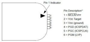 PicKit3 PinOut