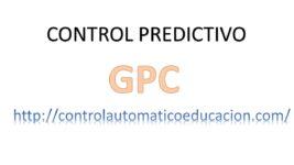 Control Predictivo GPC