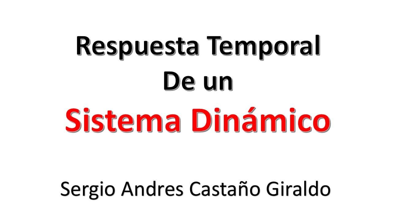 3.2. Respuesta Temporal Sistema Discreto
