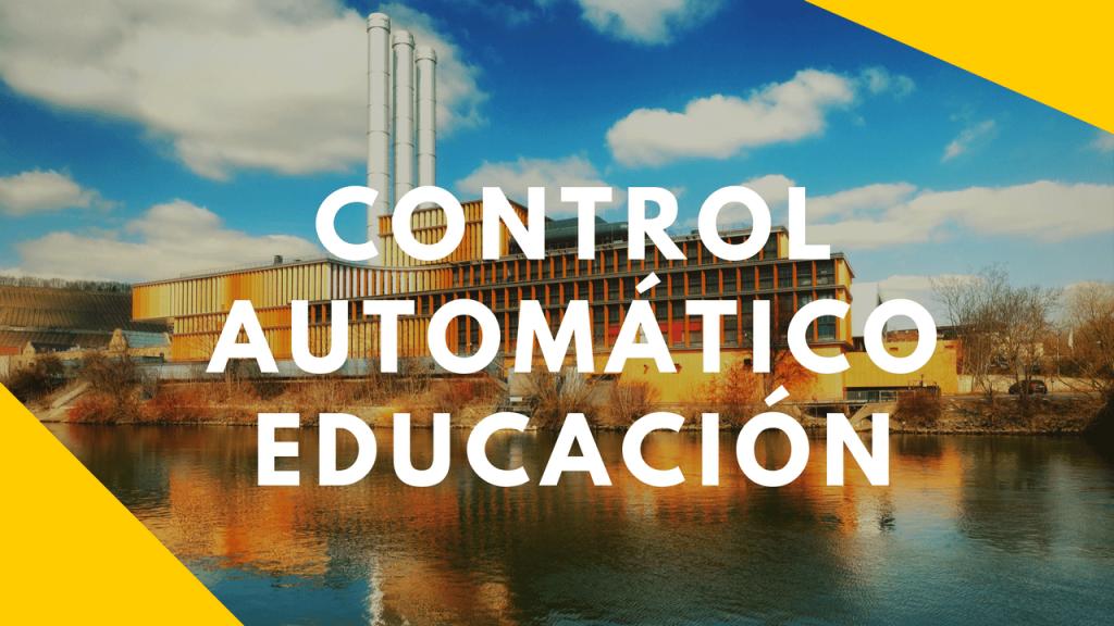 Control Automático Educación