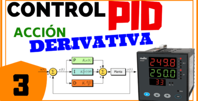 Acción Derivativa control PID