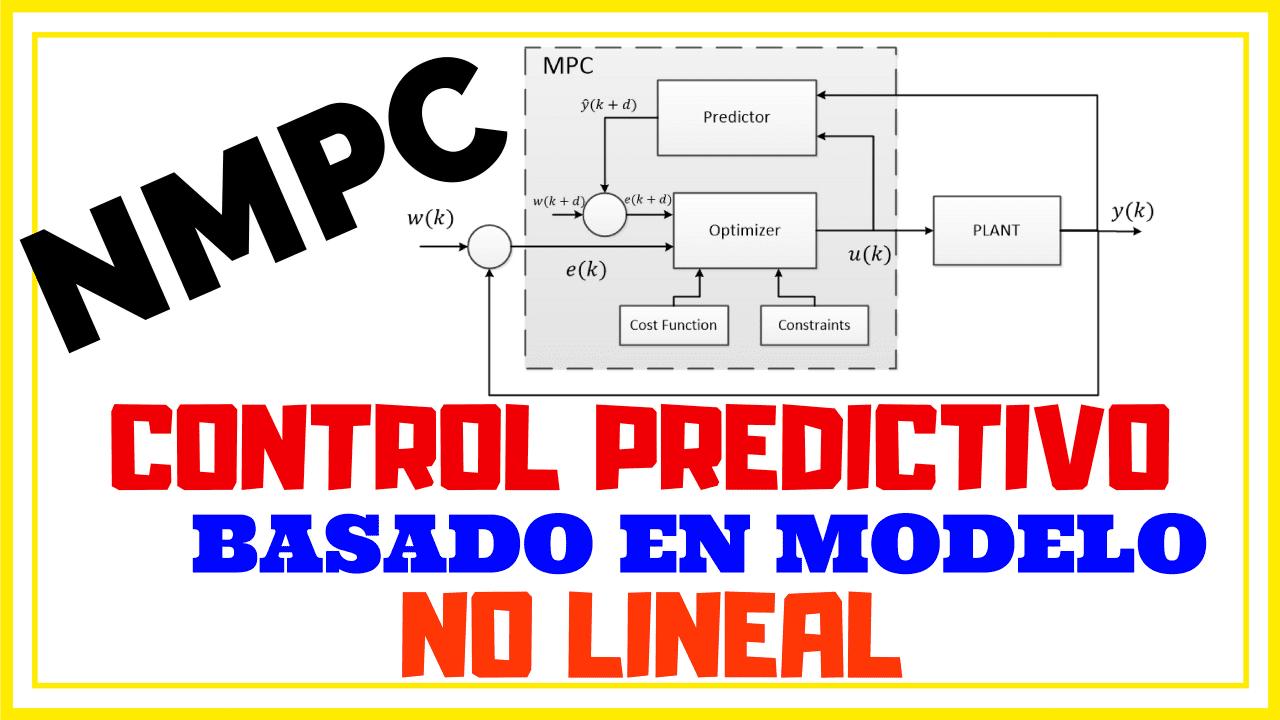 NMPC - Control Predictivo No Lineal