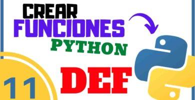 Crear funciones en Python
