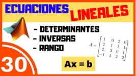 Ecuaciones Lineales Matlab