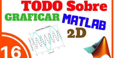 Graficar en MATLAB 2D