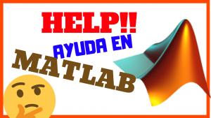 Ayuda y Documentación en MATLAB