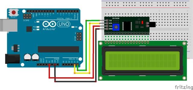 Interfaz I2C LCD