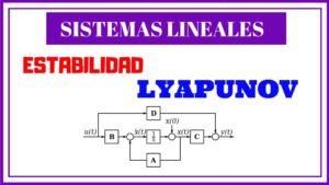 Estabilidad de Lyapunov
