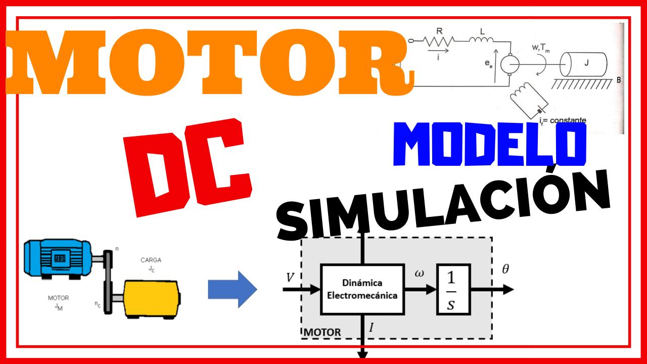 Modelo de Motor DC