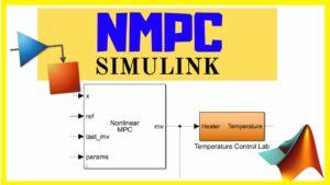 Control NMPC toolbox Matlab