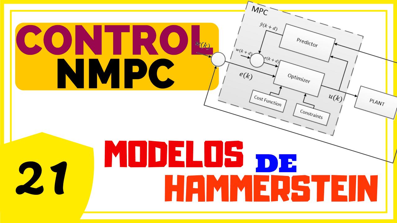 NMPC Usando Modelos Hammerstein