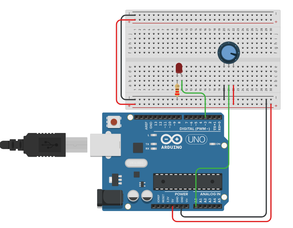 PWM Led Arduino