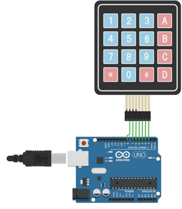 Teclado Arduino