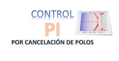 Control PI por cancelación de Polos